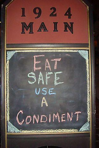 1924 Main Sign