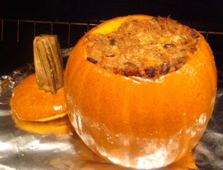 Brazilian Baked Pumpkin