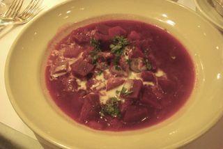 Chez P Beet Soup