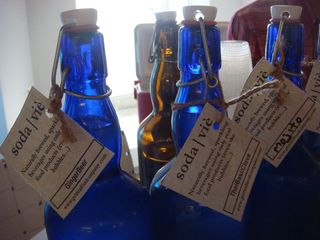Soda Vie bottles