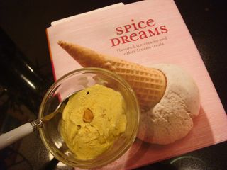 Toasted almond & coconut ice cream