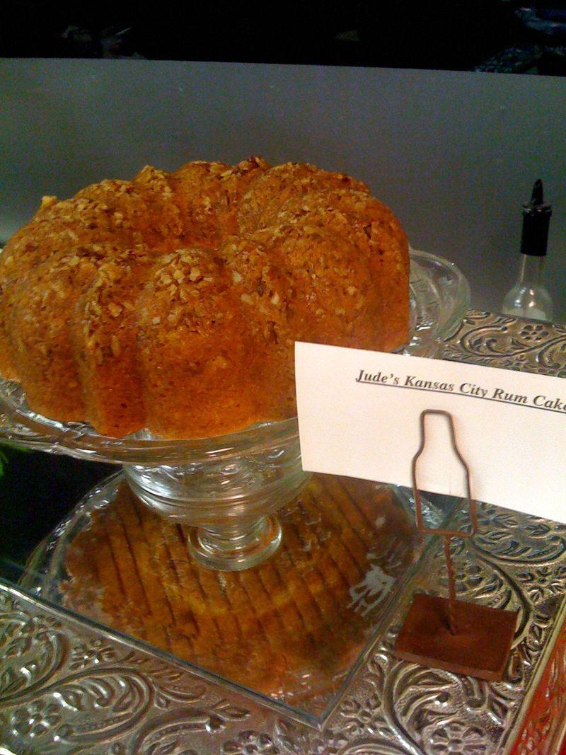 Jude's rum cake