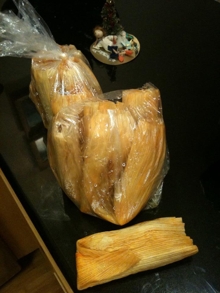Sack of Los Alamos tamales