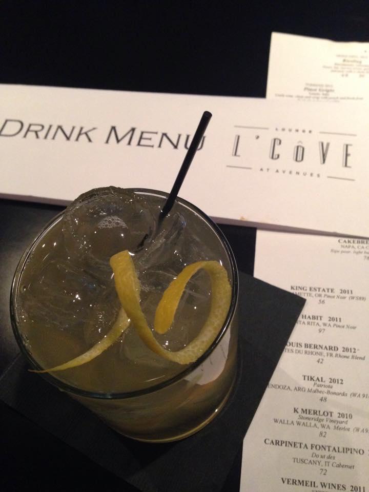 L'Cove Boardwalk Bourbon featuring J. Rieger whiskey