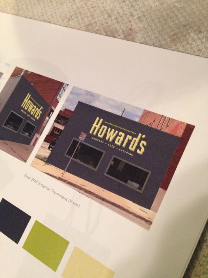 Howard's Location
