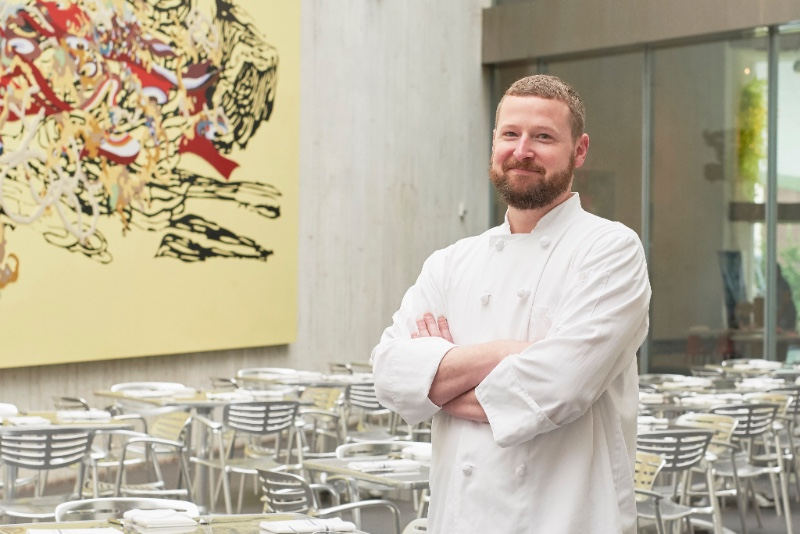 Chef David Ford is the new Executive Chef for Cafe Sebastinne. Photo by Kenny Johnson