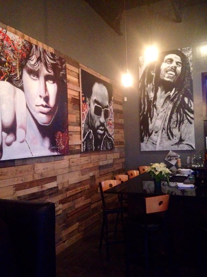 More art on the walls by Alexander Austin