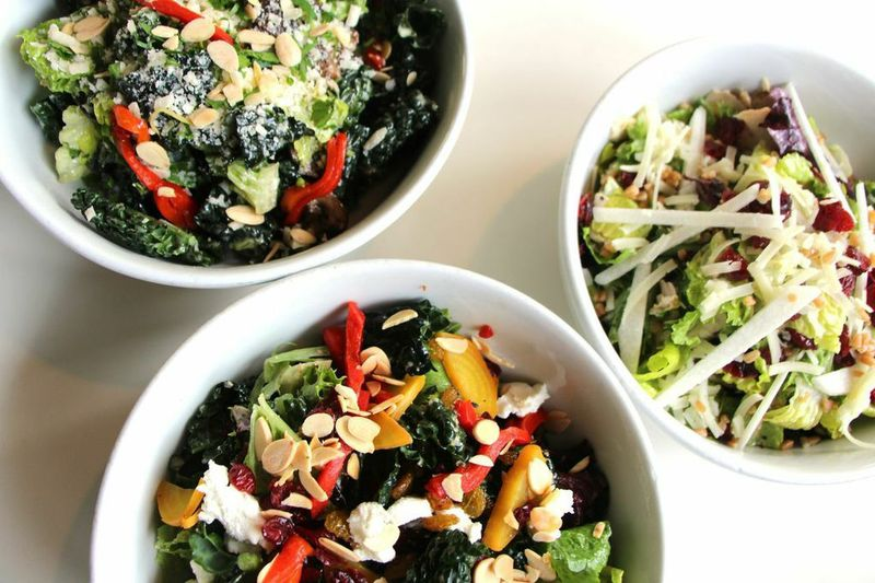 A trio of new salads