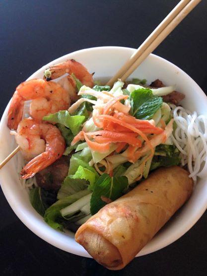 Combo Charbroiled Lemongrass Pork Vermicelli from Nguyen Pho+Grill