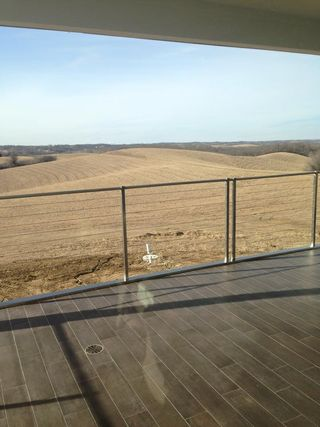 The view across the rolling hills from the new Vox Tasting Room looks picturesque
