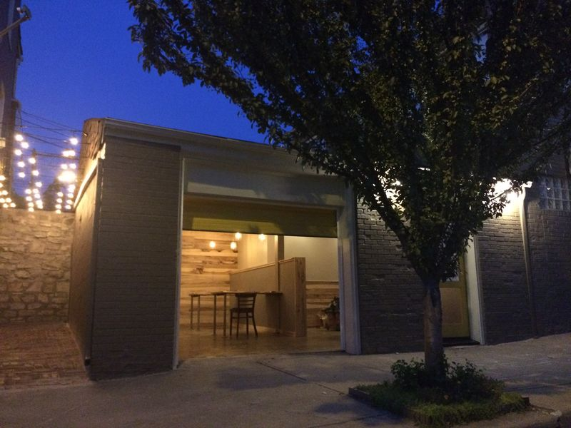 Columbus Park Ramen Shop - is almost done with construction
