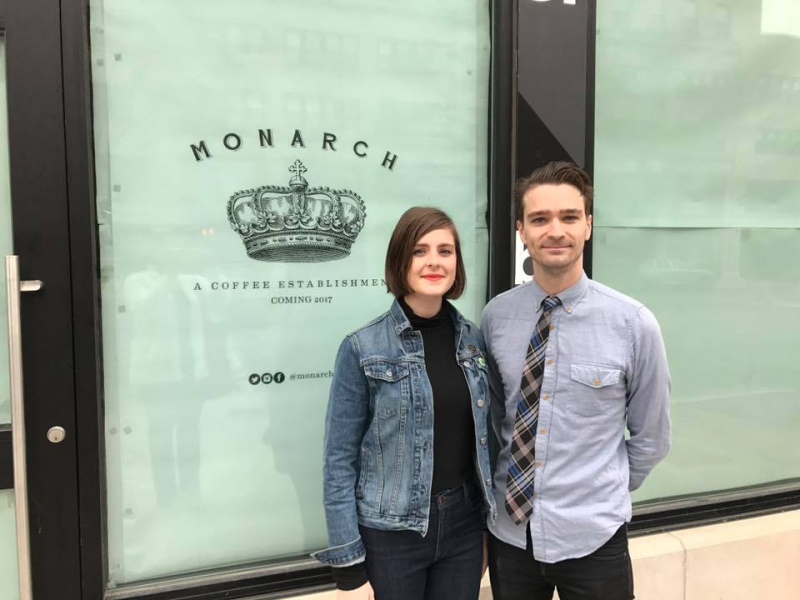 Jaime and Tyler Rovenstien will open Monarch in late May