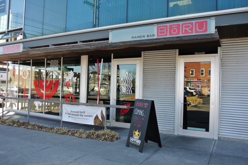 Bōru Ramen Bar is located in the former Summit Grill space