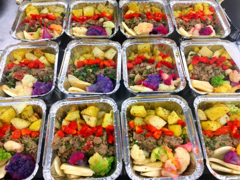 Canihaveabite creates a grab and go meals for customers to take on the run