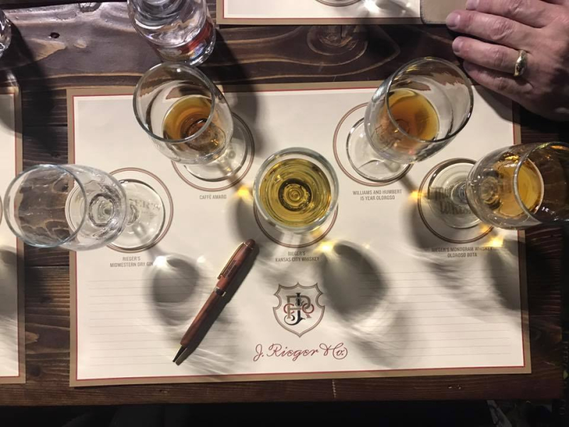 J. Rieger & Co. Tasting of t