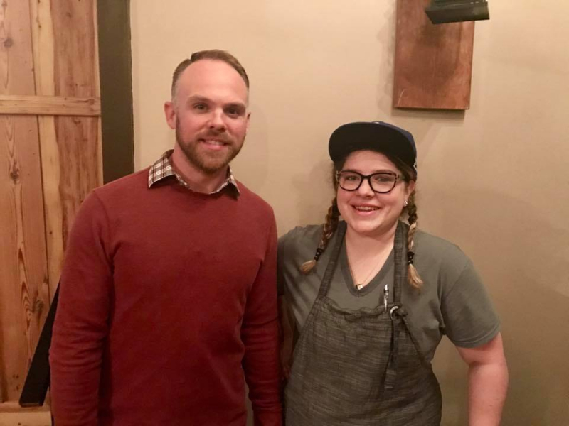 Owner of Journeyman Cafe and Executive Chef Emily Stranimier