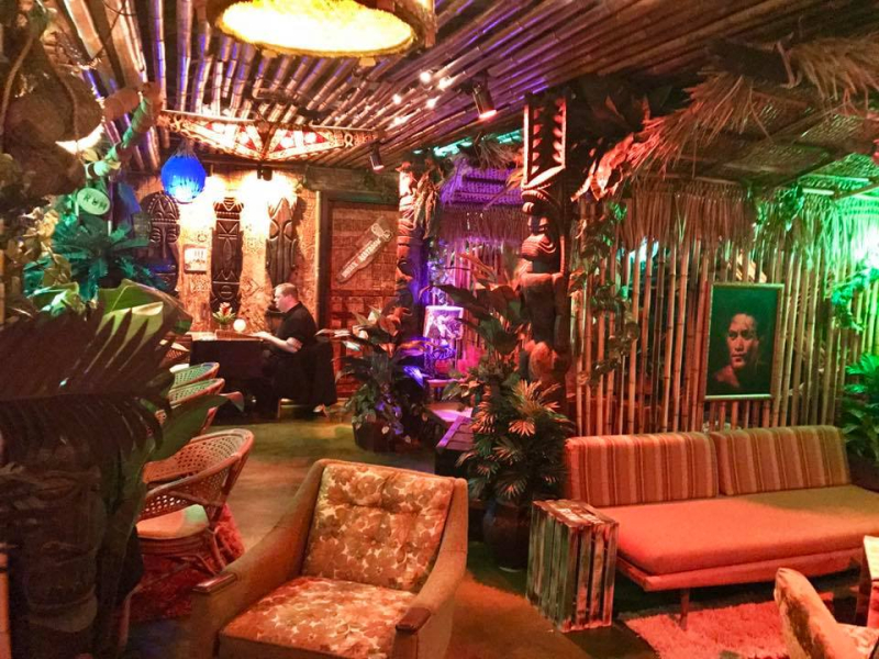Mark Sellers  Founder & CEO of HopCat is a true fan of tiki culture which is why he decided to build his first tiki bar in Kansas City