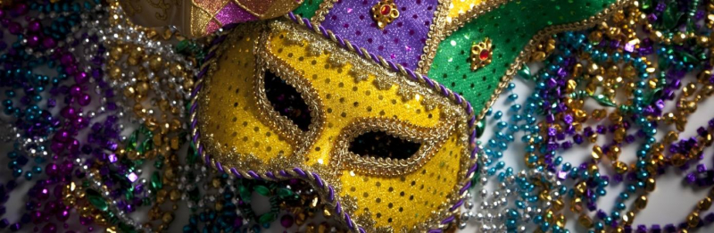 Stock Mardi Gras photo pulled from Avenues Facebook Page